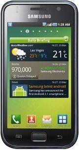 Reparatur beim defekten Samsung Galaxy S Smartphone